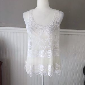 NWT Express lace top size Medium